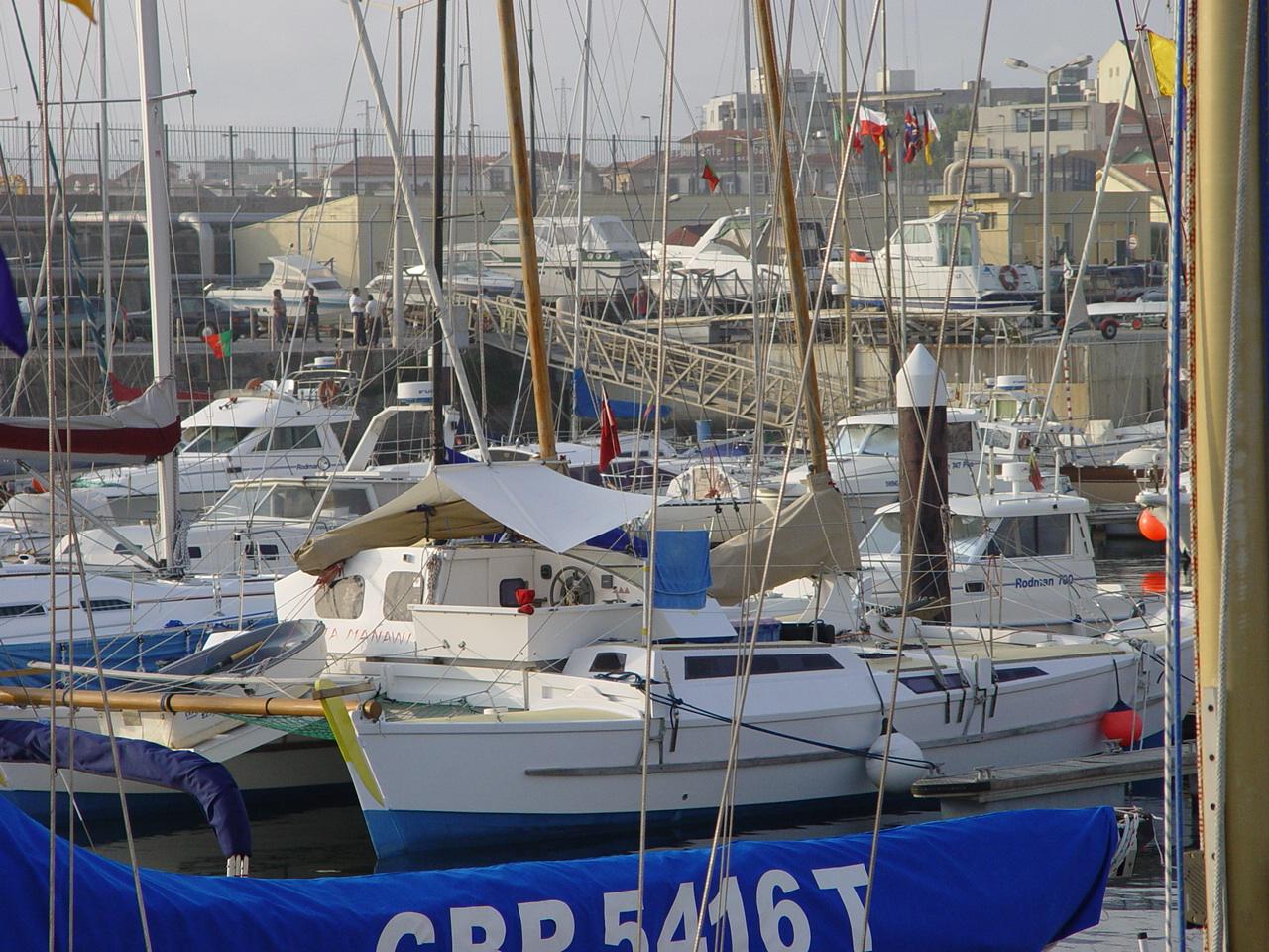 James Wharram catamaran