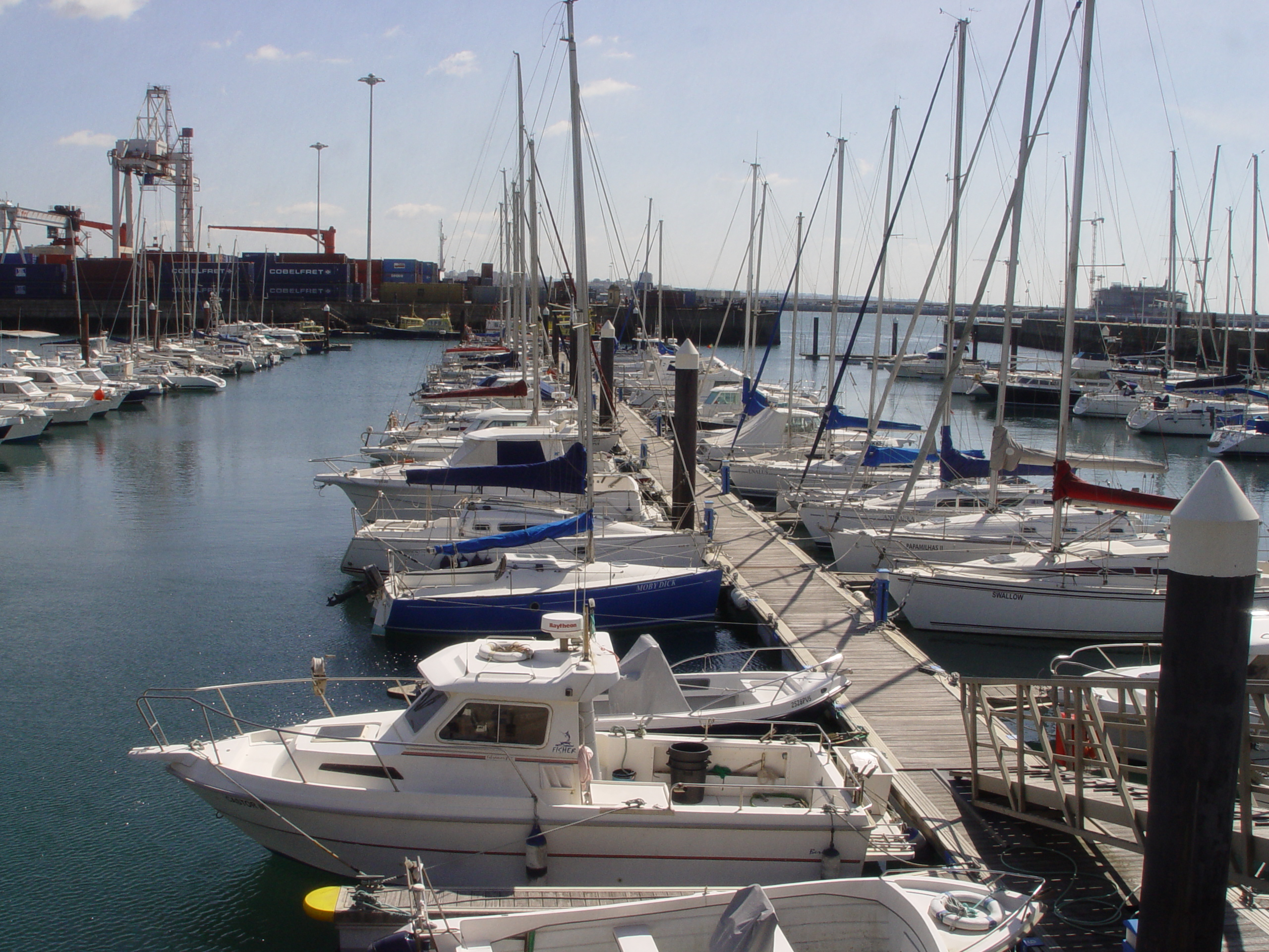 Pontoon C - Marina Porto Atlântico